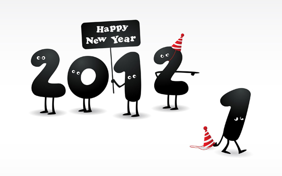 Beautiful-happy-new-year-2012-in-different-styles-46