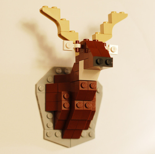 Legotaxidermy