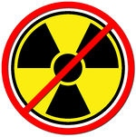 59661-Yellow-Radiation-Prohibited-Sign-On-White-Poster-Art-Print